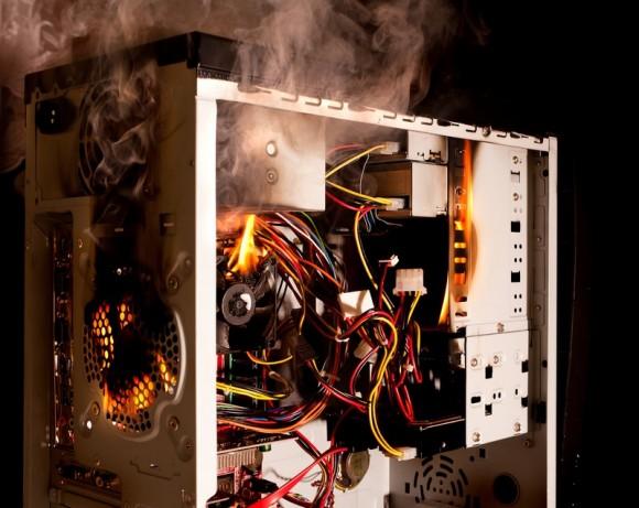 Computerüberhitzung