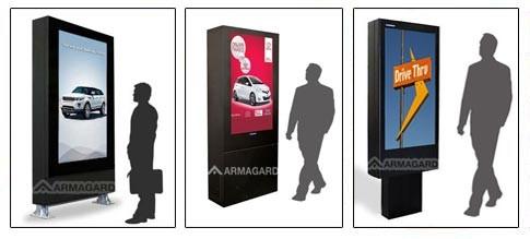 Digital Signage Werbe-System