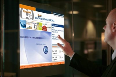 Touch-Screen Digital Signage