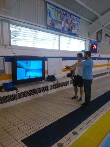 Digital Signage im Poolbereich