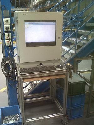 Industrie PC Gehäuses, staubdicht