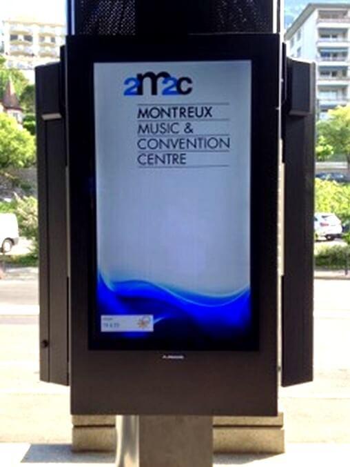 LCD Digital Signage Schutzgehäuse maßgefertigten