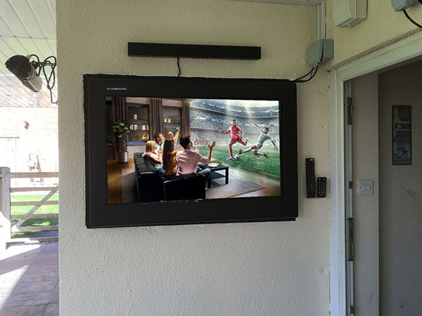 eingelassenes LCD Digital Signage Schutzgehäuse