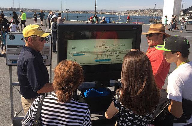 Armagard interaktives Digital Signage Display