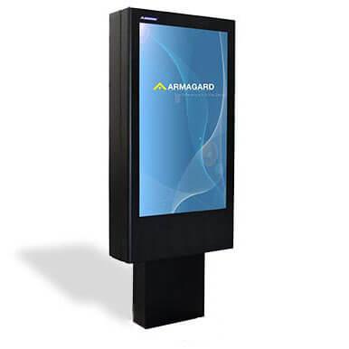 Das 'Totem' LCD Monitor Schutzgehäuse
