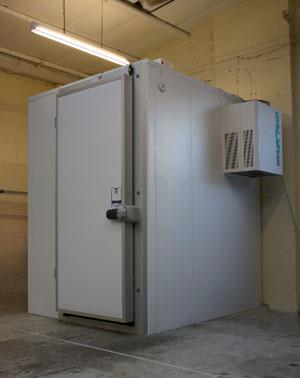 Armagards eigne Kühlraum Kammer