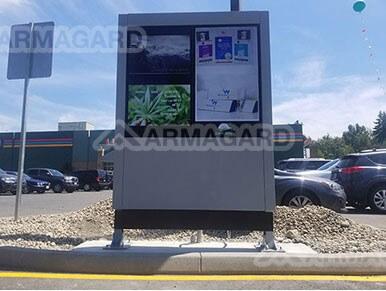 Dual Screen Armagard Stelen-System