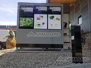 JayMarc AV Triple-Screen Armagard Schutzgehäuse