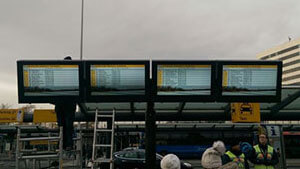 NEC & Schipol Airport LCD Schutzgehäuse