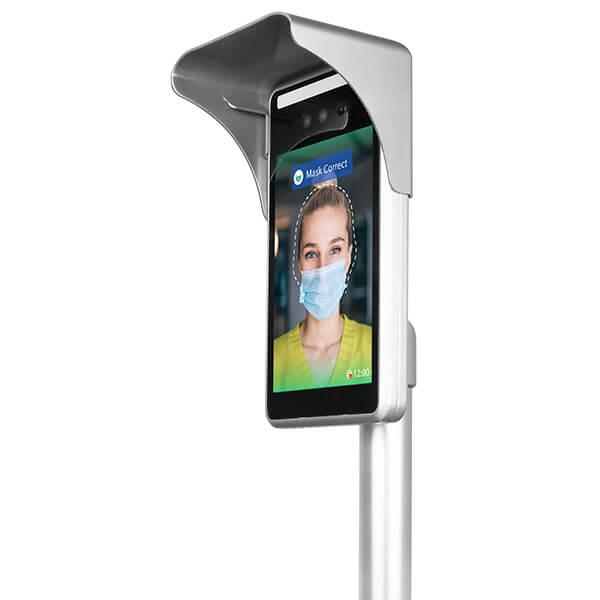 Körpertemperatur-Screening System - Linke ansicht