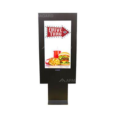 Digitale Drive Thru Speisekarte Gehäuse