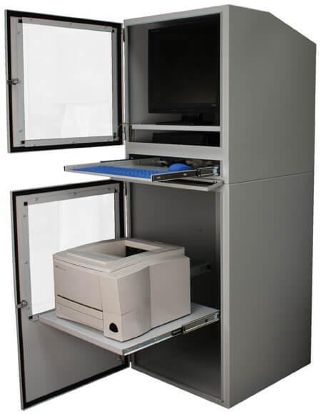 industrie pc schrank ip54 schutz mit all in one penc 800 und ppri 700 integriertem industrie. Black Bedroom Furniture Sets. Home Design Ideas