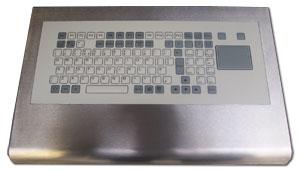 Keyboard with slide pad
