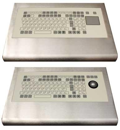 Edelstahl Tastatur