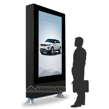 "72"" Outdoor Helligkeit Display Stele"