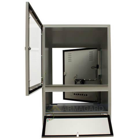 pc schrank industrie ip54 computer tastatur monitorschutz in fabriken und industriellen. Black Bedroom Furniture Sets. Home Design Ideas