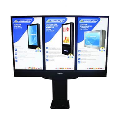 Samsung Display für Aussenbereich