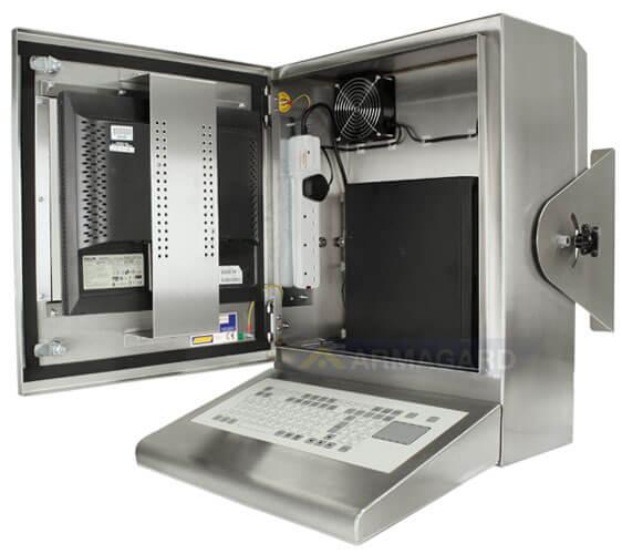 industrie pc ip65 verl sslicher computer und monitor schutz armagard ltd. Black Bedroom Furniture Sets. Home Design Ideas