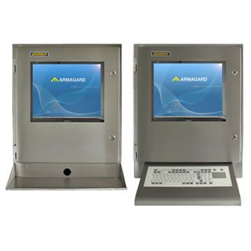 SENC-700 Panel PC Gehäuse - mit Tastaturablage oder Folientastatur