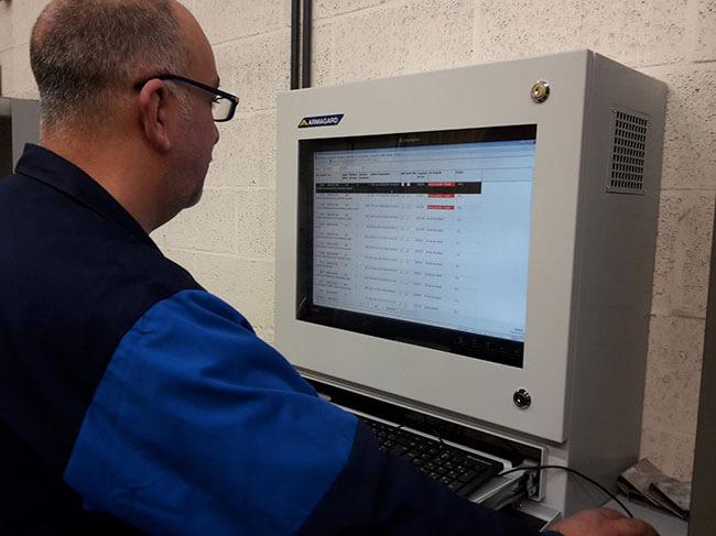 Industrie Computer Instandhaltungs
