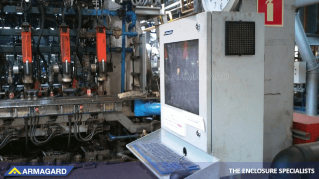 Industrielle Computergehäuse Installationsoptionen