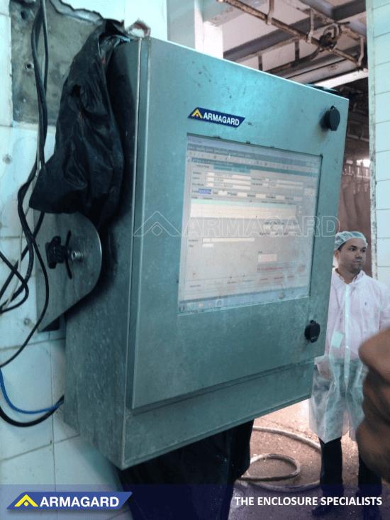 Wasserdichte Computergehäuse