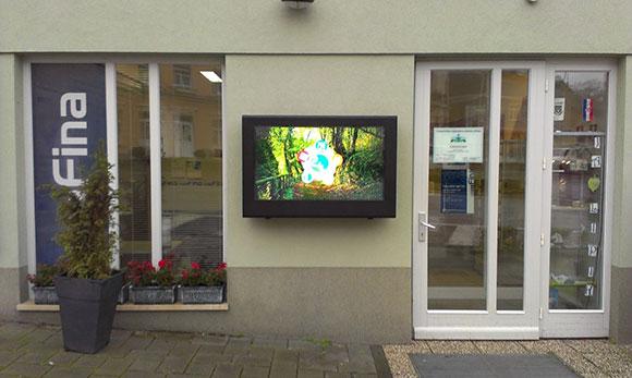 LCD Schutzgehäuse Monitoren in Aussenbereichen