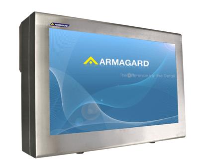 Edelstahl LCD Schutzgehäuse