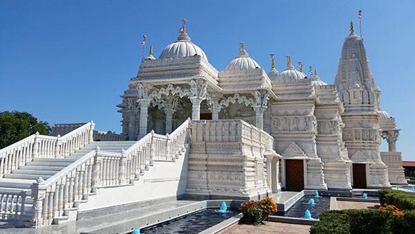 Hindu Tempel Digitaler Werbung