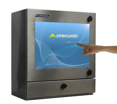 wasserdichter Touchscreen-Computer für industrielle Washdown-Umgebungen